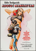 "Movie Posters:Documentary, Ciao! Manhattan (Constantin Film, 1974). German A1 (23.5"" X 33""). Documentary.. ..."