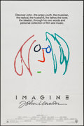 "Movie Posters:Rock and Roll, Imagine: John Lennon (Warner Brothers, 1988). One Sheet (27"" X 41"")Green Hair Style. Rock and Roll.. ..."