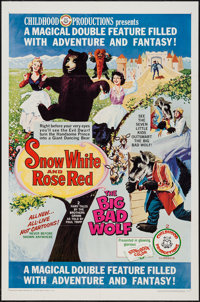 Snow White and Rose Red/The Big Bad Wolf Combo & Others Lot (Childhood Productions, 1966). One Sheets (3) (27&qu...