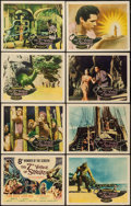 """Movie Posters:Fantasy, The 7th Voyage of Sinbad (Columbia, 1958). Lobby Card Set of 8 (11""""X 14""""). Fantasy.. ... (Total: 8 Items)"""