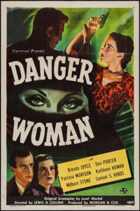 "Danger Woman (Universal, 1946). One Sheet (27"" X 41""). Drama"