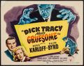 "Movie Posters:Crime, Dick Tracy Meets Gruesome (RKO, 1947). Title Lobby Card (11"" X14""). Crime.. ..."