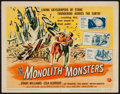 "Movie Posters:Science Fiction, The Monolith Monsters (Universal International, 1957). Title LobbyCard (11"" X 14""). Science Fiction.. ..."