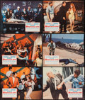 "Movie Posters:Action, Murderers' Row (Columbia, 1966). Lobby Cards (9) (11"" X 14"").Action.. ... (Total: 9 Items)"