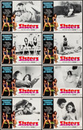 """Movie Posters:Horror, Sisters (American International, 1973). Lobby Card Set of 8 (11"""" X 14""""). Horror.. ... (Total: 8 Items)"""