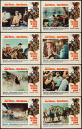 """Movie Posters:Western, The Sons of Katie Elder (Paramount, 1965). Lobby Card Set of 8 (11"""" X 14""""). Western.. ... (Total: 8 Items)"""