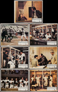 """Movie Posters:Sports, Bang the Drum Slowly (Paramount, 1973). Lobby Cards (7) (11"""" X 14""""). Sports.. ... (Total: 7 Items)"""