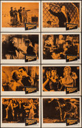 """Movie Posters:Rock and Roll, Dangerous Youth (Warner Brothers, 1958). Lobby Card Set of 8 (11"""" X 14""""). Rock and Roll.. ... (Total: 8 Items)"""