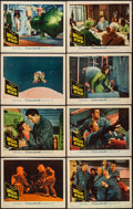 "Movie Posters:Science Fiction, Satellite in the Sky (Warner Brothers, 1956). Lobby Card Set of 8 (11"" X 14""). Science Fiction.. ... (Total: 8 Items)"