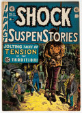 Golden Age (1938-1955):Horror, Shock SuspenStories #5 (EC, 1952) Condition: VG/FN....