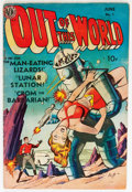 Golden Age (1938-1955):Science Fiction, Out of This World #1 (Avon, 1950) Condition: VG+....