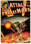 Golden Age (1938-1955):Science Fiction, Attack on Planet Mars #nn (Avon, 1951) Condition: GD+....