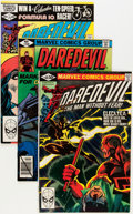 Modern Age (1980-Present):Superhero, Daredevil Group (Marvel, 1979-82) Condition: Average FN.... (Total:20 Comic Books)