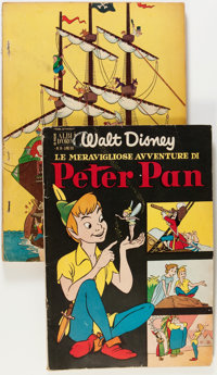 Dell Giant Comics Peter Pan Treasure Chest Group (Dell, 1953).... (Total: 2 Comic Books)
