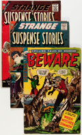 Silver Age (1956-1969):Horror, Golden Age Horror Group (Various Publishers, 1954-63) Condition:Average GD/VG.... (Total: 12 Comic Books)