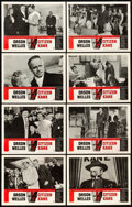 "Movie Posters:Drama, Citizen Kane (RKO, R-1956). Lobby Card Set of 8 (11"" X 14"").. ...(Total: 8 Items)"