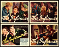 "Movie Posters:Drama, The Informer (RKO, 1935). Title Lobby Card and Lobby Cards (3) (11""X 14"").. ... (Total: 4 Items)"
