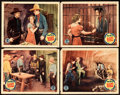 """Movie Posters:Western, Randy Rides Alone (Monogram, 1934). Lobby Cards (4) (11"""" X 14"""").. ... (Total: 4 Items)"""