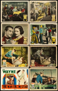 "Movie Posters:Western, The Man from Utah (Monogram, 1934). Lobby Card Set of 8 (11"" X14"").. ... (Total: 8 Items)"