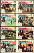 """Movie Posters:Elvis Presley, Roustabout (Paramount, 1964). Lobby Card Set of 8 (11"""" X 14"""").. ... (Total: 8 Items)"""