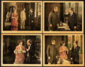 "Movie Posters:Drama, Disraeli (United Artists, 1921). Lobby Cards (4) (11"" X 14"").. ... (Total: 4 Items)"