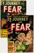Golden Age (1938-1955):Horror, Journey Into Fear #4 and 14 Group (Superior Comics, 1951-53)Condition: Average VG.... (Total: 2 Comic Books)