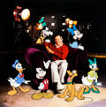 Animation Art:Production Cel, Roy Disney and Friends Hand-painted Limited Edition SignedCel #184/300 (Walt Disney, 2000).... (Total: 2 Items)