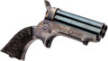 "Handguns:Derringer, Palm, Sharps Four-Barrel ""Pepper Box"" Derringer...."