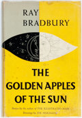 Books:Science Fiction & Fantasy, Ray Bradbury. The Golden Apples of the Sun. Doubleday, 1953.First edition. Publisher's grey cloth and original dust...