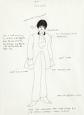 Animation Art:Production Drawing, Beatles Yellow Submarine Paul Model Drawing (UnitedArtists/King Features, 1968)....