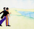 Animation Art:Production Cel, Beatles Yellow Submarine John and Paul Production Cel(United Artists/King Features, 1968)....