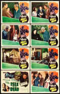"""Movie Posters:Horror, Isle of the Dead (RKO, 1945). Lobby Card Set of 8 (11"""" X 14"""").. ... (Total: 8 Items)"""