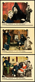 "Movie Posters:Comedy, The Gold Rush (United Artists, 1925). Lobby Cards (3) (11"" X 14"")..... (Total: 3 Items)"