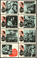 "Movie Posters:War, Passage to Marseille (Warner Brothers, 1944). Lobby Card Set of 8 (11"" X 14"").. ... (Total: 8 Items)"