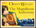 """Movie Posters:Drama, The Magnificent Ambersons (RKO, 1942). Title Lobby Card (11"""" X14"""").. ..."""