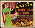 "Movie Posters:Drama, Stage Door (RKO, 1937). Title Lobby Card (11"" X 14"").. ..."