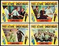"Movie Posters:Musical, Carefree (RKO, 1938). Lobby Cards (4) (11"" X 14"").. ... (Total: 4Items)"
