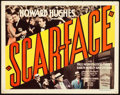"Movie Posters:Crime, Scarface (United Artists, 1932). Title Lobby Card (11"" X 14"").. ..."