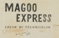 Animation Art:Production Drawing, Magoo Express Production Title and Credit Drawings Group(UPA, 1955).... (Total: 7 Original Art)