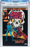 Modern Age (1980-Present):Superhero, Ghost Rider #81 - Don/Maggie Thompson Collection pedigree (Marvel,1983) CGC NM/MT 9.8 White pages....