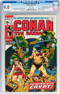Bronze Age (1970-1979):Adventure, Conan the Barbarian #8 - Don/Maggie Thompson Collection pedigree (Marvel, 1971) CGC VF/NM 9.0 White pages....