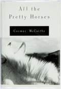 Books:Literature 1900-up, Cormac McCarthy. All the Pretty Horses. New York: Knopf,1992. First edition. Publisher's binding and original dust ...