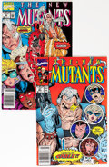 Modern Age (1980-Present):Superhero, The New Mutants Group - Don/Maggie Thompson Collection pedigree(Marvel, 1990-1991).... (Total: 2 Comic Books)