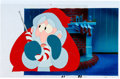 Animation Art:Production Cel, National Lampoon's Christmas Vacation Santa Production CelSetup (Warner Brothers, 1989).... (Total: 3 Original Art)