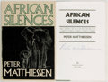 Books:Travels & Voyages, Peter Matthiessen. SIGNED REVIEW COPY. African Silences. First edition. Signed by the author. Publisher's bindin...