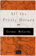 Books:Literature 1900-up, Cormac McCarthy. SIGNED UNCORRECTED PROOF. All the PrettyHorses. New York: Knopf, 1992. First edition. Signed by ...