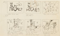 The Nut House Storyboards Group (Jay Ward, 1963).... (Total: 6 Original Art)