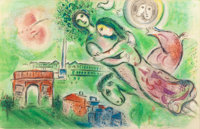 CHARLES SORLIER (French, 1921-1990) after MARC CHAGALL (French, 1887-1985) Romeo and Juliet, 1964 C