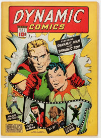 Dynamic Comics #2 (Chesler, 1941) Condition: GD+