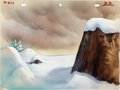 Animation Art:Production Drawing, The Snow Man Production Background Group (Terrytoons,1940).... (Total: 2 Original Art)